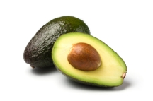 whole and half avocado